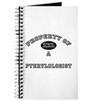 Property of a Pterylologist Journal