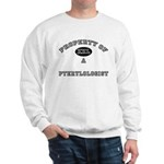 Property of a Pterylologist Sweatshirt