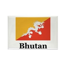 Bhutan Rectangle Magnet (100 pack)
