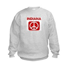 INDIANA for peace Sweatshirt