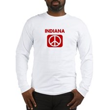 INDIANA for peace Long Sleeve T-Shirt