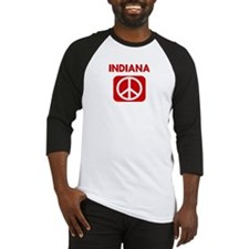 INDIANA for peace Baseball Jersey