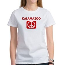 KALAMAZOO for peace Tee