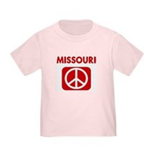 MISSOURI for peace T