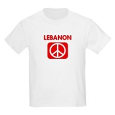 LEBANON for peace T-Shirt