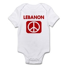 LEBANON for peace Infant Bodysuit