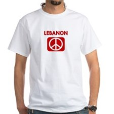 LEBANON for peace Shirt
