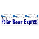 Polar Bears Bumper Bumper Sticker