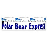 Polar Bears Bumper Sticker