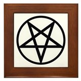 Pentagram Framed Tile