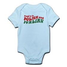 Proud Polish Italian Infant Bodysuit