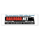 RAILROAD.NET Bumper Bumper Sticker