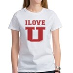 I Love U. Women's T-Shirt
