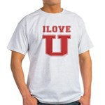 I Love U. Light T-Shirt
