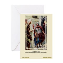 The Centurion - Copping - Greeting Card