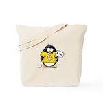 Do Good Penguin Tote Bag