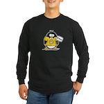 Do Good Penguin Long Sleeve Dark T-Shirt