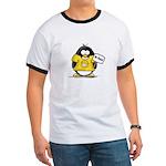 Do Good Penguin Ringer T