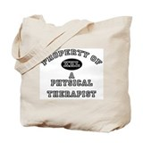 Property of a Physical Therapist Tote Bag
