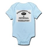 Property of a Physical Therapist Infant Bodysuit