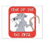 Year of The Rat 1972 Small Poster