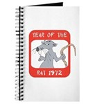 Year of The Rat 1972 Journal