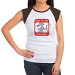 Year of The Rat 1972 Women's Cap Sleeve T-Shirt