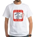 Year of The Rat 1972 White T-Shirt