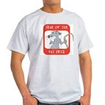 Year of The Rat 1972 Light T-Shirt