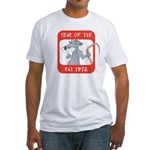 Year of The Rat 1972 Fitted T-Shirt