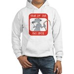 Year of The Rat 1972 Hooded Sweatshirt