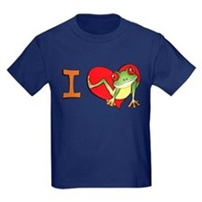 I heart frogs T