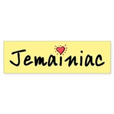 Jemainiac Bumper Bumper Sticker
