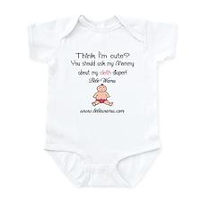 Bèbè Wamu logo Infant Bodysuit