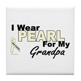 I Wear Pearl 3 (Grandpa LC) Tile Coaster