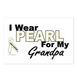 I Wear Pearl 3 (Grandpa LC) Postcards (Package of