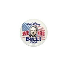 New We NEED Bill Mini Button (10 pack)