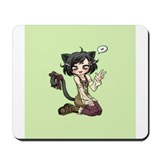 Cute Love nya Mousepad