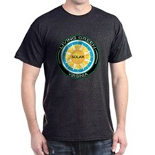 Living Green Virginia Solar Energy T-Shirt