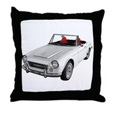 Unique Roadsters Throw Pillow
