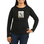 MEUSE Family Crest Women's Long Sleeve Dark T-Shir