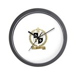 MEUSE Family Crest Wall Clock