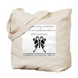 Cute Christianity Tote Bag