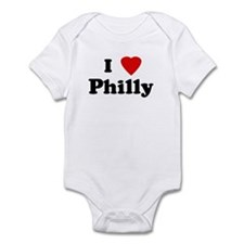 I Love Philly  Infant Bodysuit