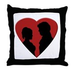 Jane Austen PP2 Lizzy Darcy Throw Pillow