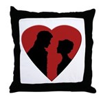 Jane Austen PP3 Lizzy Darcy Throw Pillow