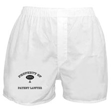 Property of a Patent Lawyer Boxer Shorts