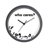 &quot;Michelle&quot; Who Cares? Wall Clock