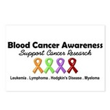 BloodCancerAwareness Postcards (Package of 8)