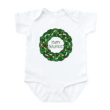 Celtic Solstice Wreath Infant Bodysuit